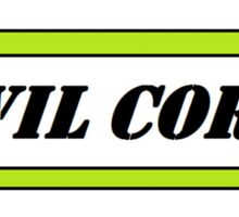 Evil Corp. Sticker