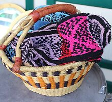 Basket of Knitted Things by Gilda Axelrod