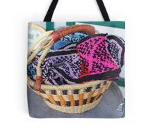 Basket of Knitted Things Tote Bag