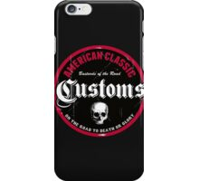 Hot Rod Retro Decal iPhone Case/Skin