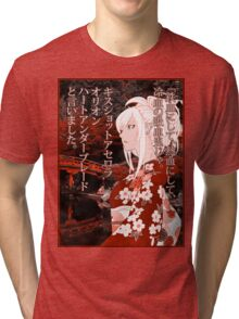 Kiss-Shot Yukata Tri-blend T-Shirt