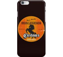 Hot Rod Retro Decal iPhone Case/Skin