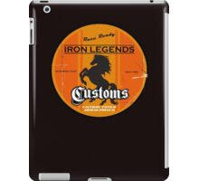 Hot Rod Retro Decal iPad Case/Skin
