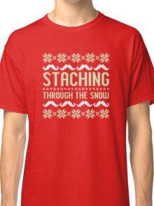 Staching Through the Snow Classic T-Shirt