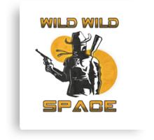 Wild Wild Space Bounty Hunter Canvas Print