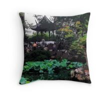 Surrounded By Beauty, Photo / Digital Painting  Throw Pillow