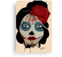 the painted dead Canvas Print