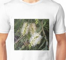 Lemon Bottle Brush In Our Garden. Unisex T-Shirt