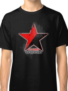 No Gods No Masters - Anarchist Star - grunge Classic T-Shirt