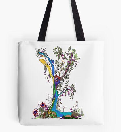 Tree of Life 13 - The Fairy Tree Tote Bag