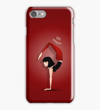 Do yoga! iPhone Case/Skin