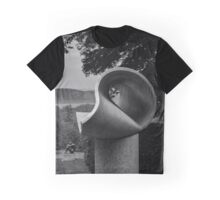 Triangular Surface in Space by Max Bill - Kykuit Rockefeller Estate | Sleepy Hollow, New York Graphic T-Shirt