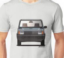 Modern Euro Icons Series FlAT Panda (Split) Unisex T-Shirt