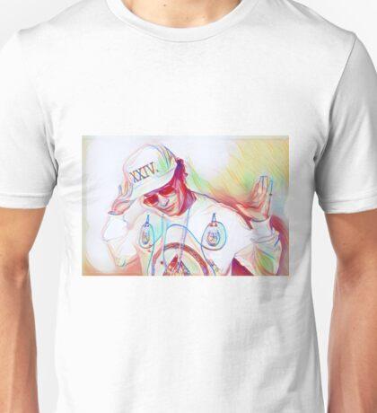 Bruno Mars 24k Magic sketch Unisex T-Shirt