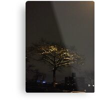 Snow tree, Harlem Metal Print