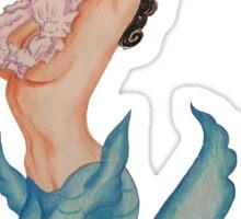 Pinup Mermaid Sticker