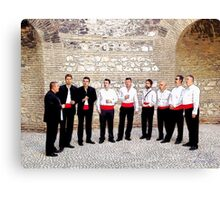 A Cappella, Photo / Digital Painting  Canvas Print