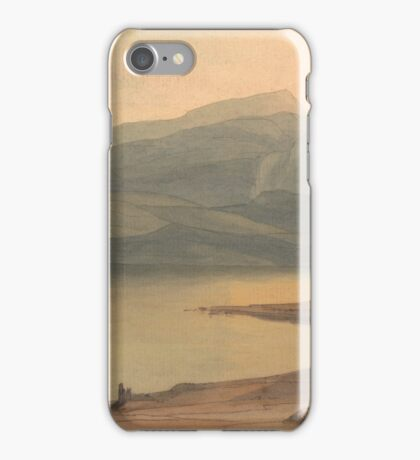 Francis Towne - Windermere at Sunset iPhone Case/Skin