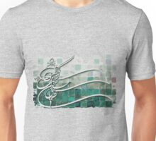 Calligraphy of a persian poem Unisex T-Shirt