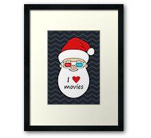 Smiling Santa Claus 4 Framed Print