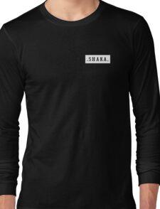 Shaka White  Long Sleeve T-Shirt
