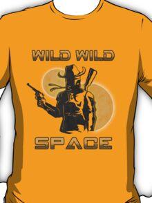 Wild Wild Space Bounty Hunter T-Shirt