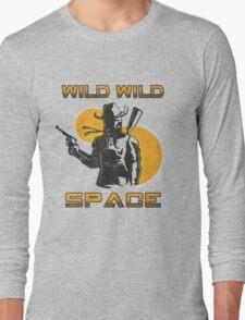 Wild Wild Space Bounty Hunter Long Sleeve T-Shirt