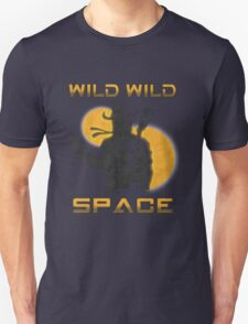 Wild Wild Space Bounty Hunter Unisex T-Shirt