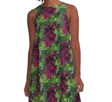 Bold bloom A-Line Dress