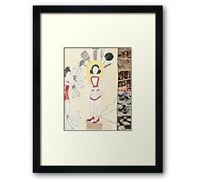 Self-Portrait as the Perfect Housewife Framed Print