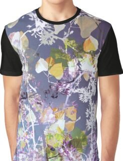 Organic Pattern of Leaves  Graphic T-Shirt