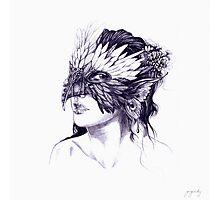 Masked Faeren Photographic Print