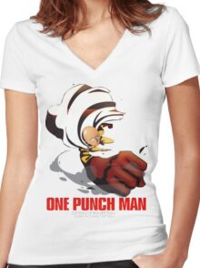 OPM[HD] Women's Fitted V-Neck T-Shirt
