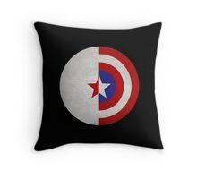 Cap and Bucky Throw Pillow