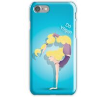 Not only the strength but also the beauty iPhone Case/Skin