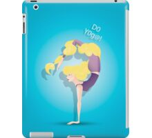Not only the strength but also the beauty iPad Case/Skin