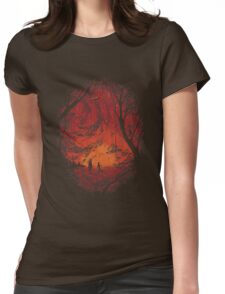 Intergalactic Womens Fitted T-Shirt