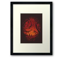 Intergalactic Framed Print