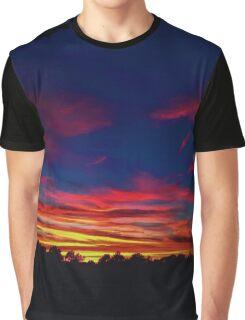 SUNSET HIGH Graphic T-Shirt