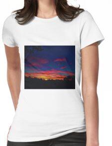 SUNSET HIGH Womens Fitted T-Shirt