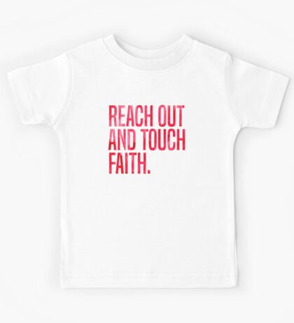 Reach Out and Touch Faith Kids Tee