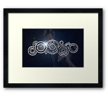 Eleventh Doctor Who Graphic Framed Print