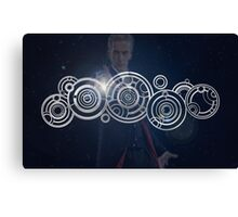 Twelfth Doctor Who Graphic Canvas Print