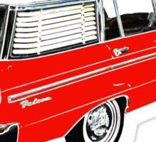 XM Falcon Wagon (Red) Sticker