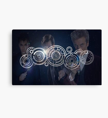 Doctor Who Triple Threat Canvas Print