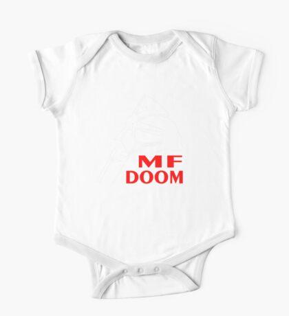 mf doom mask One Piece - Short Sleeve