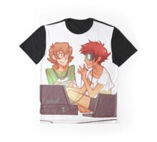 Pidge and Ed Graphic T-Shirt