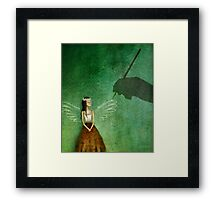 Invisible angel Framed Print