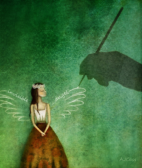 Invisible angel by Amanda  Cass