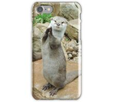 Otter applause iPhone Case/Skin